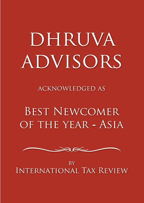 Dhruva Advisors Best Newcomer Tax Firm ITR